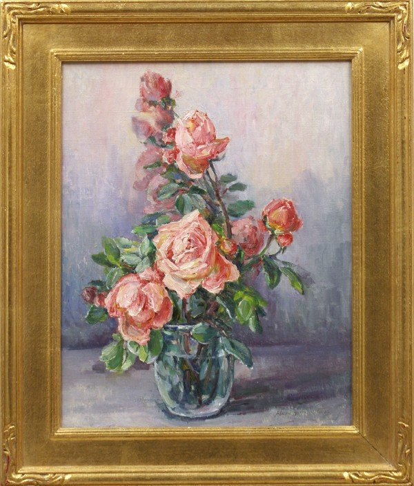 6257: Painting, Mary Paxton Herrick Ross, Roses