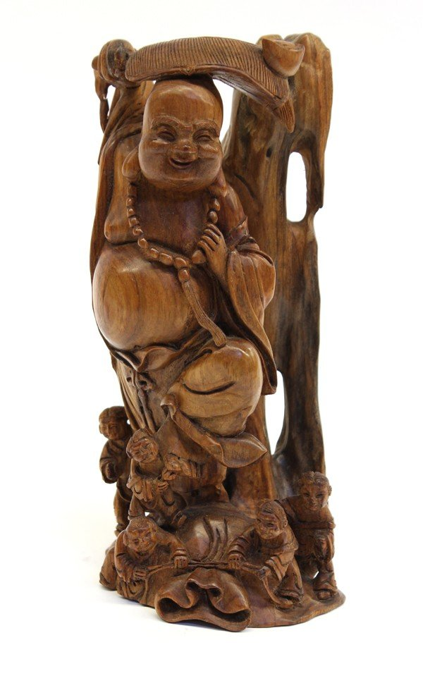 4004: Chinese Wood Carving of Budai