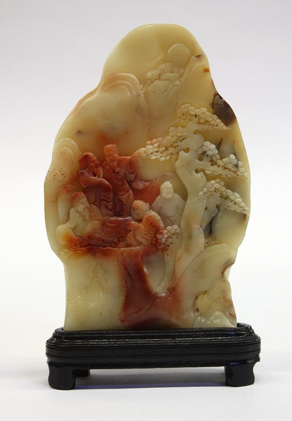4010: Chinese Soapstone Carving