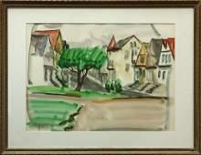 4681: Watercolor, Justin Faivre, Street View