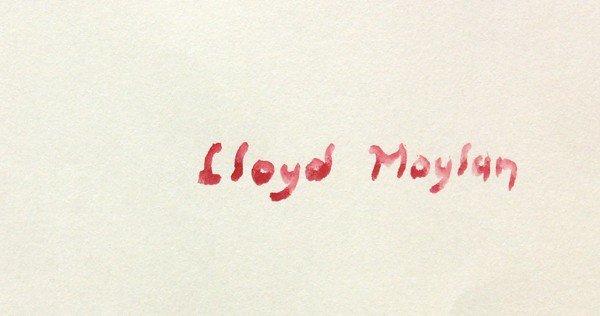 4686: Watercolors, Lloyd Moylan, Horse Studies - 5