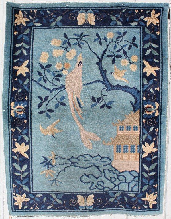 4002: Chinese Peking rug