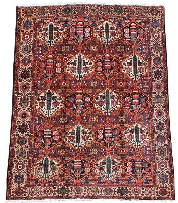 4011: Bakhtiari Khan carpet