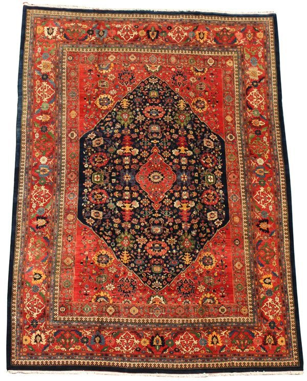 4055: Fine Halvai Bijar carpet