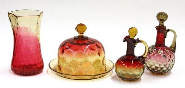 2006: Amberina glass