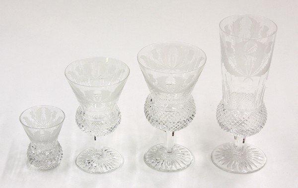 2007: Edinburgh crystal stemware