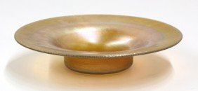 Tiffany Studios Gold Favrile Bowl