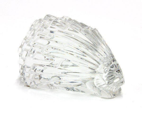 2011: Baccarat porcupine paperweight