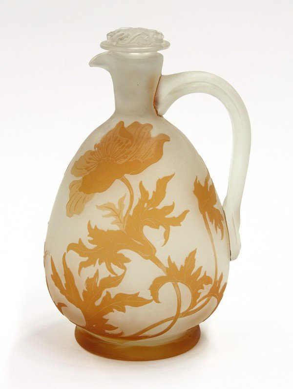 2015: Galle cameo glass ewer