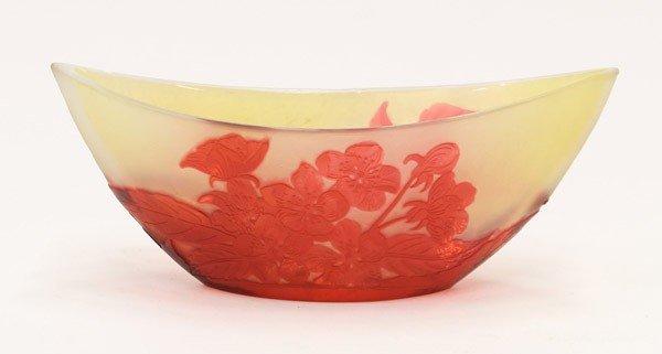 2016: Art glass vase