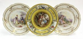 2018: Sevres cabinet plates