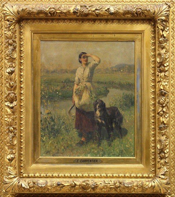 2216: Painting, Evariste Carpentier