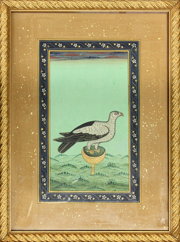 3: East Indian Mughal-Style Miniature Painting