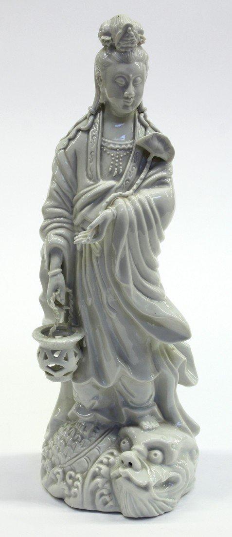 15: Chinese Blanc de Chine Guanyin