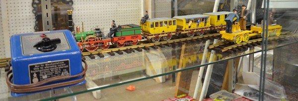 151A: Marklin & Bachmann G scale trains