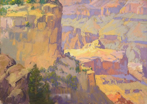 6004: Pastel, Grand Canyon, Carl Sammons