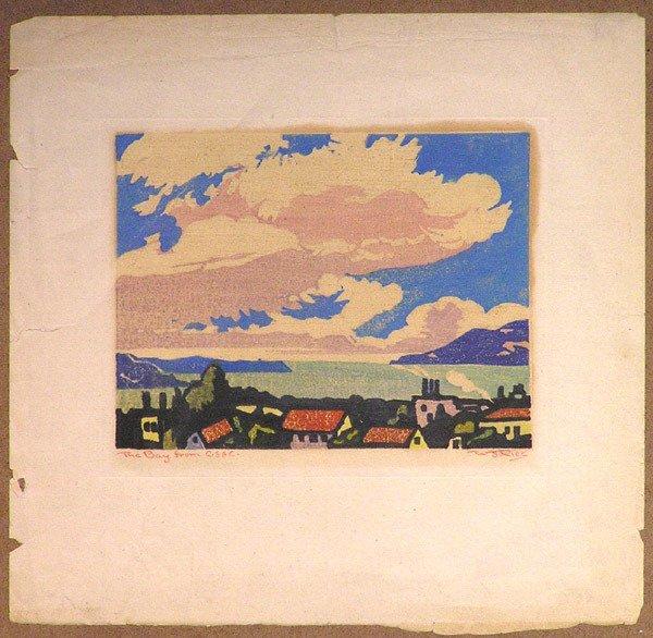 6475: Woodblock print, William S. Rice