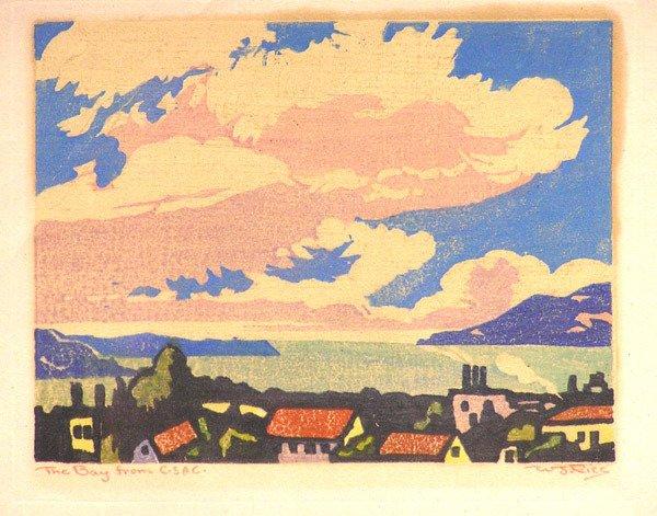 6475: Woodblock print, William S. Rice - 2