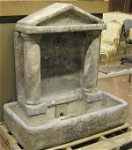 6752 Cast stone water fountain