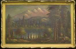 4373 Oilcanvas William M Lemos