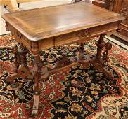 6117 Renaissance Revival library table