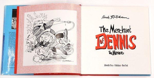 6186: Dennis the Menace & Hanna-Barbera signed books - 3