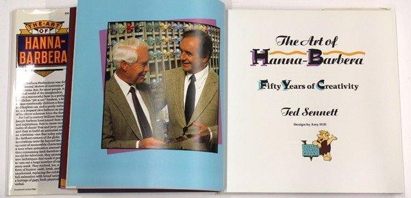 6186: Dennis the Menace & Hanna-Barbera signed books - 6