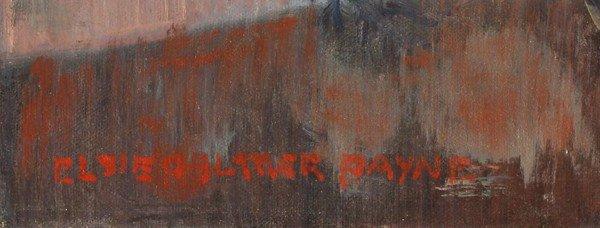 6253: Painting, Elsie Palmer Payne, Amaryllis - 3