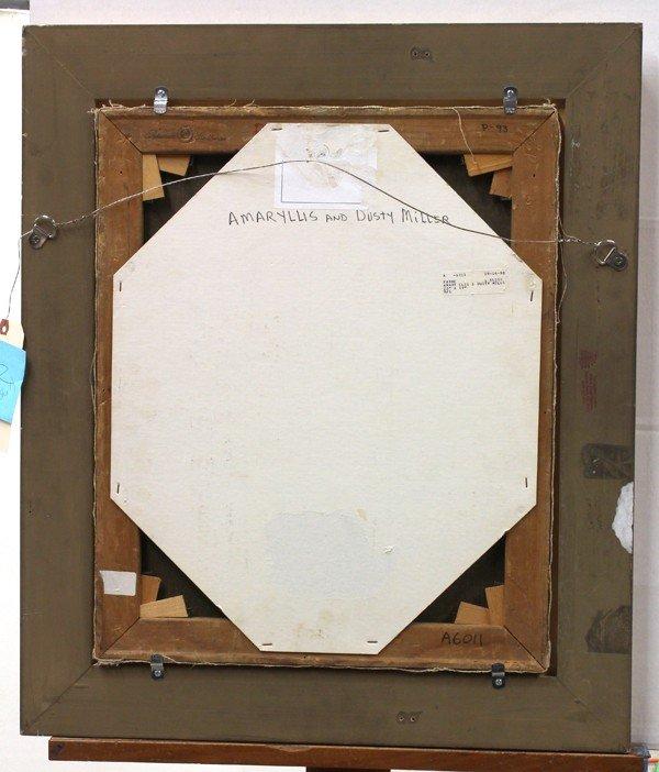 6253: Painting, Elsie Palmer Payne, Amaryllis - 4