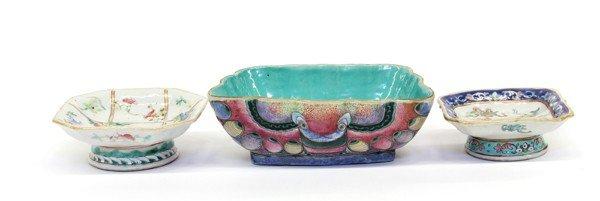 4019: Three Chinese Enameled Porcelains, Tongzhi period