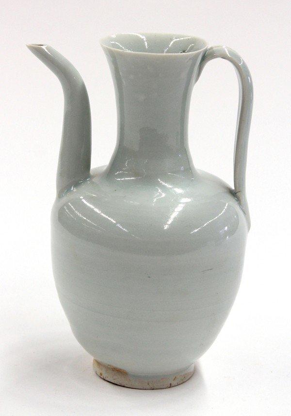 4020: Chinese Qingbai Porcelain Ewer