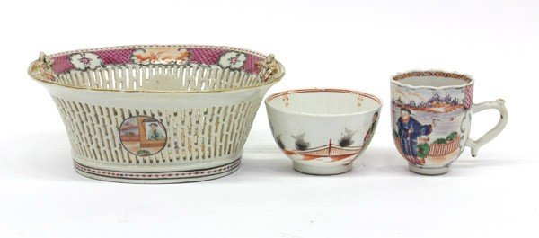 4023: Group of Miscellaneous Chinese Export Porcelains