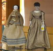 4150: Two Victorian dolls