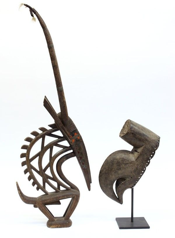 Two West African carvings