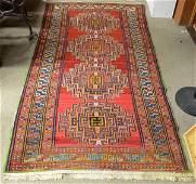 4213: Causasian Kazak rug