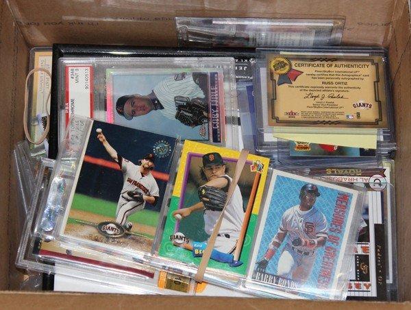9005: Baseball slabbed sports cards signed