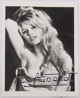 Brigitte Bardot Autographed Photographs