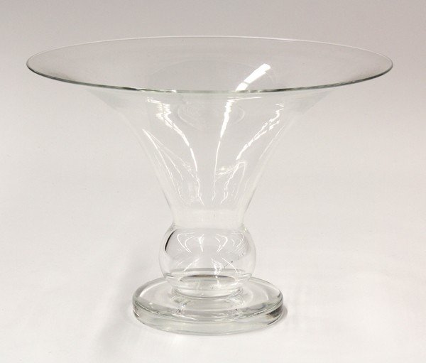 2005: Steuben footed vase