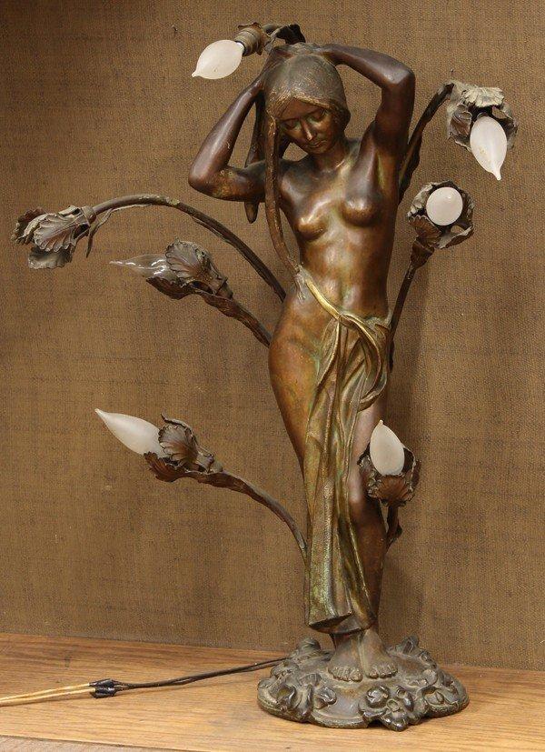 2010: Art Nouveau lamp