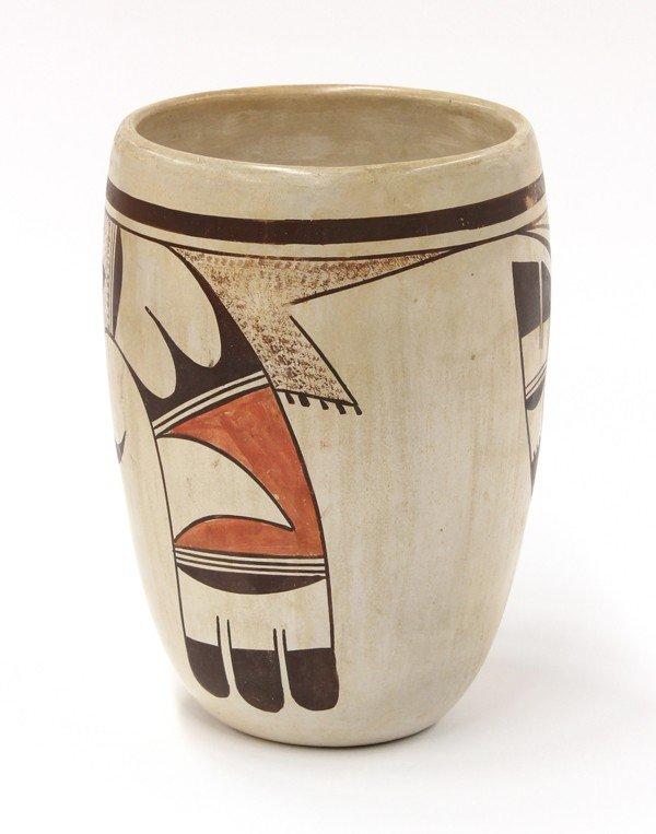 2031: Paqua Naha, First Frog woman, Hopi vase - 2