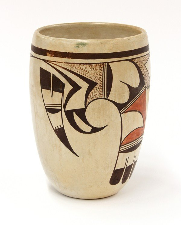 2031: Paqua Naha, First Frog woman, Hopi vase - 3