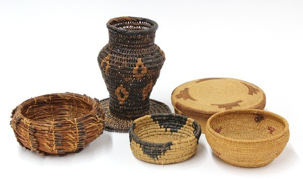 2035: Native American Arts & Crafts baskets