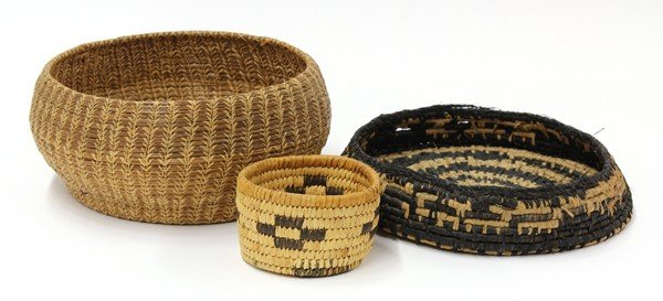 2036: Native American Indian baskets