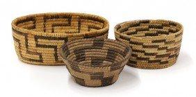 Pima-papago Southern Arizona Indian Baskets