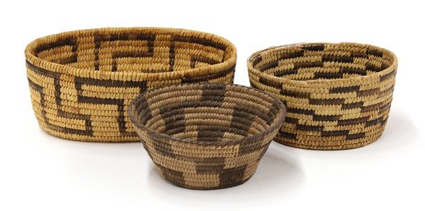 2037: Pima-papago Southern Arizona Indian baskets