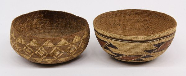 2037A: Native American basket group