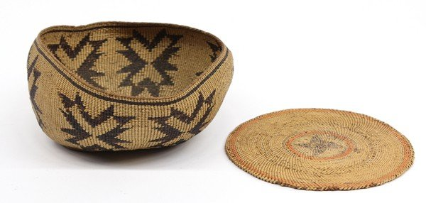 2037C: Native american basket group