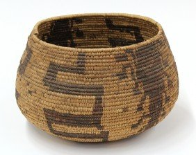 California Pictoral Basket