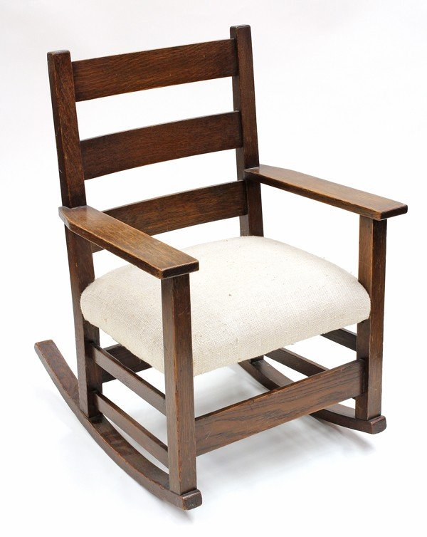 2059: Gustav Stickley rocker