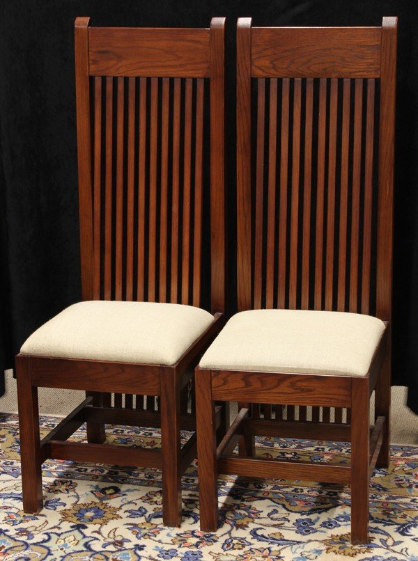 2063: American spindle chairs